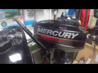 Лодочный мотор Mercury ME 2.5 M. Обзор от магазина ПервыйЛодочный.рф