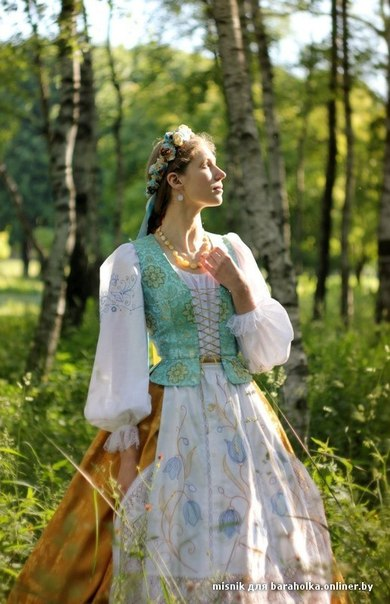 Узбекский костюм женский