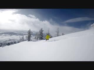 Run at Jackson Hole with GoPro HERO7