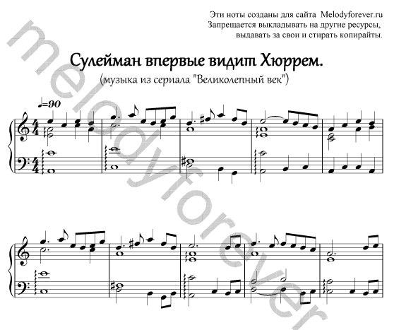 Ноты для фортепиано популярных песен one direction
