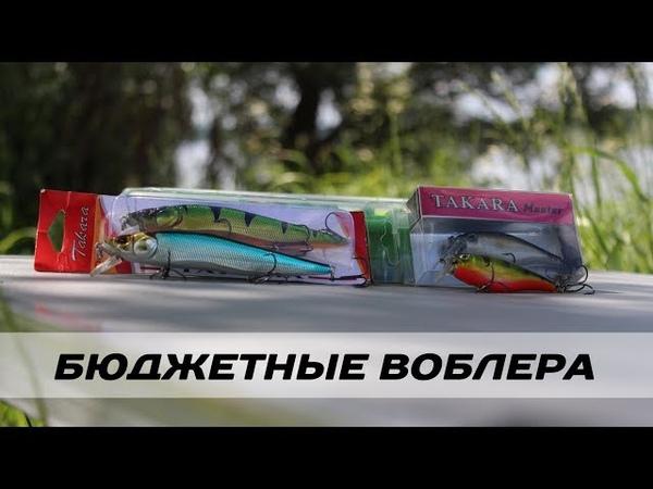Бюджетные воблеры на щуку и окуня от компании TAKARA Обзор Brave Robber и Dominator Kamfish