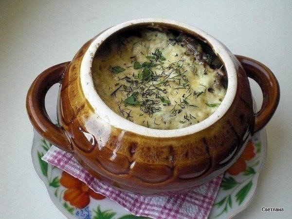 Фрикадельки с картошкой и грибами под сыром Ингредиенты: -