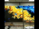 Indoor 55inch DID LED 4K seamless LCD video wall