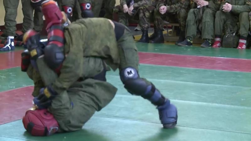 Рукопашный бой ВПЕ Витязь-контакт в Центре Специального Назначения.mp4