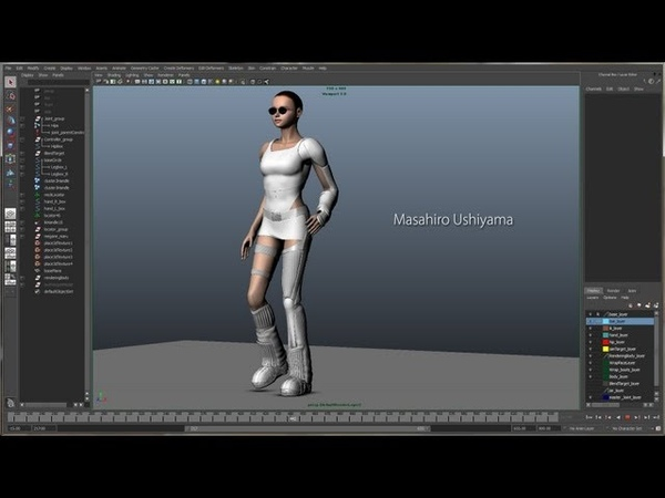 Wrap a High polygon model in the Low polygon models Key frame animation