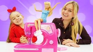 Кукла Барби выбирает хобби! – Игры для девочек одевалки.