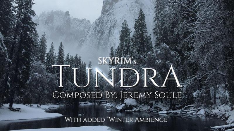 Jeremy Soule (Skyrim) — Tundra Winter Ambience [1.5 Hrs.]