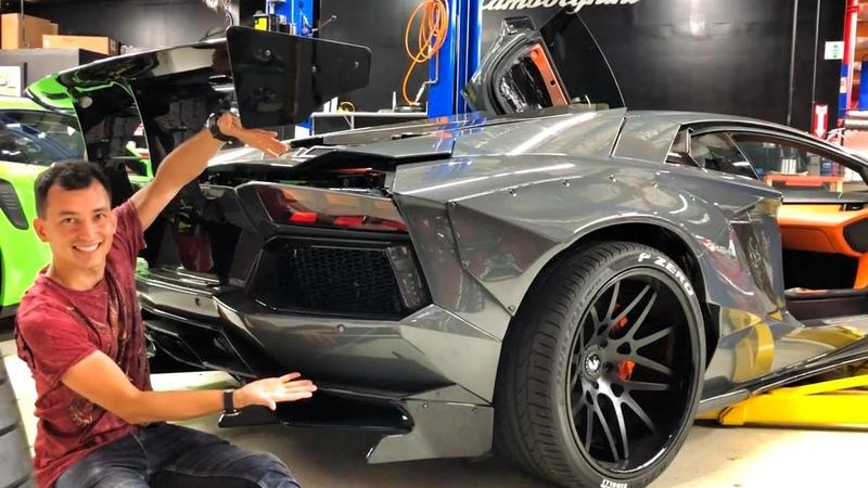 ЖЕНА на LAMBORGHINI?! 210 000 000 РУБ за Ferrari F50 F40! GMP Cars и Джеф. AVENTADOR LIBERTY WALK.