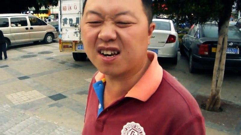 Зайка моя вишенка моя клубничка Няшный китаец