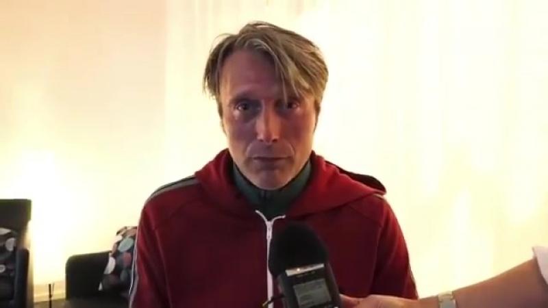Мэсс Миккельсен на комик коне в Стокгольме 14 сентября 2018