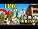 Top Secret 40 Pcs! Tips AND TRICKS | PUBG Funny Moments | EPIC MONTAGEs ! | Ep 01
