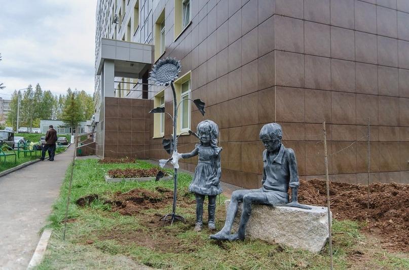 «Стирольные дети» у Перинатального центра. 2013 г.