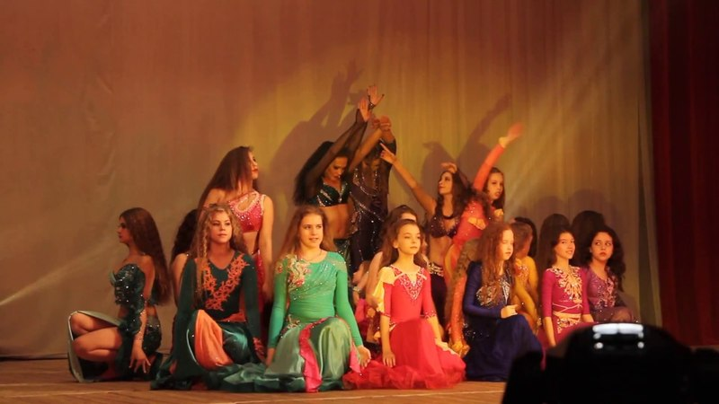 Школа восточного танца Бисер Зарисовка Цветок Закрытие
