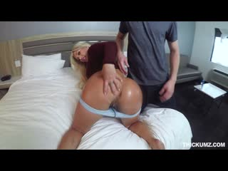 [teamskeet.com] brandi bae - thickie bowling lane lust [2019, all sex, doggystyle, facial, indoor, blonde, cum in mouth]