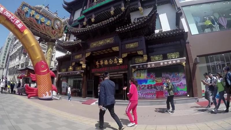 Шеньян - императорский дворец, рыбалка в парке, огромная статуя Мао Цзедуна