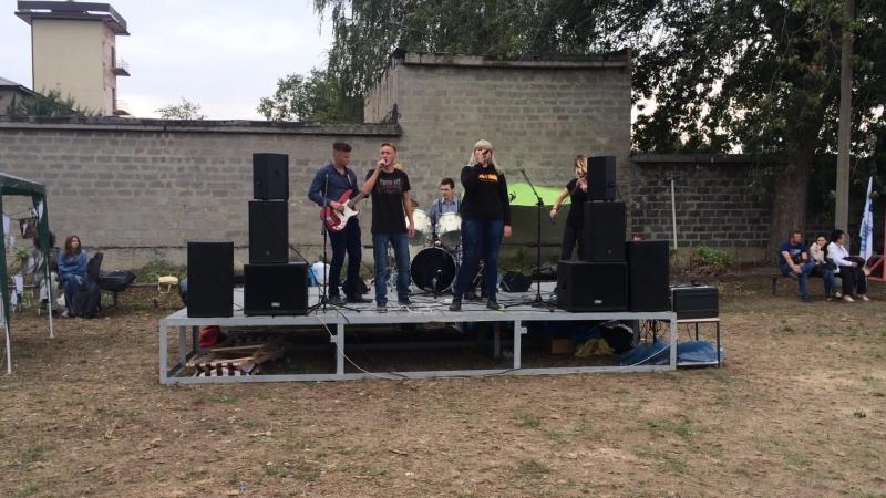 Dru_Fest , группа Flaming Sunrise, cover (Баста-Сансара)