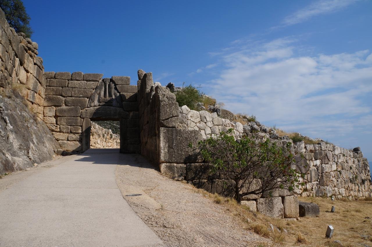 Микены - легендарный город Греции