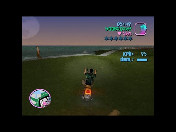 Tommy Vercetti is driving bike in GTA , part-1 (2019)
