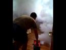 Обработка сухим туманом Fortela Aroma))