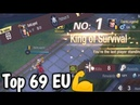 Solo Q No.1 CrossBow King 👑 Of Survival Survival Heroes - MOBA Battle Royal 👑