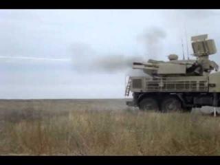 Стрельба С-300 ПМ и Панцирь-1С на полигоне Ашулук.mp4