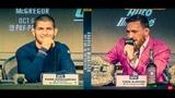 Хабиб и Конор| Пресс-конференция до боя к UFC229| Лучшие моменты (Русская озвучка)
