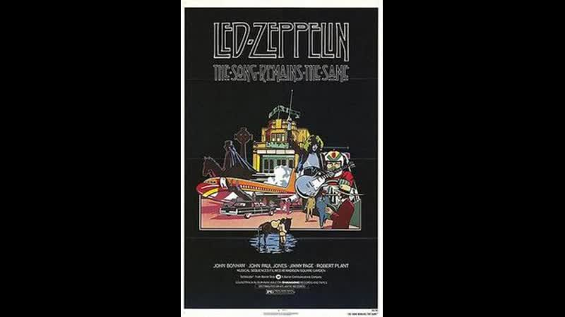 Led Zeppelin Country Life Autumn Lake Live at Madison Square Garden in New York City 1973