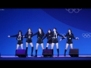 180223 GFriend- Rainbow @ 2018 Pyeongchang Olympics Headliner Show Fancam by Mera