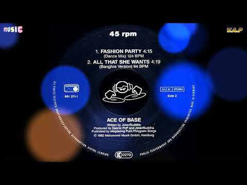 Ace of Base - All That She Wants [Extended Version] 1993 (HQ Audio 5.1)