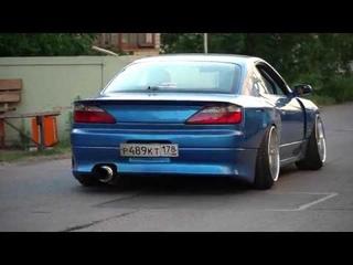 Nissan Silvia, выхлопная система Prototype Exhaust.