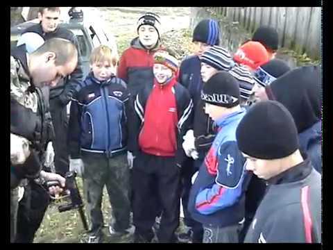 Пейнтбол в ОСОШ №1 2010