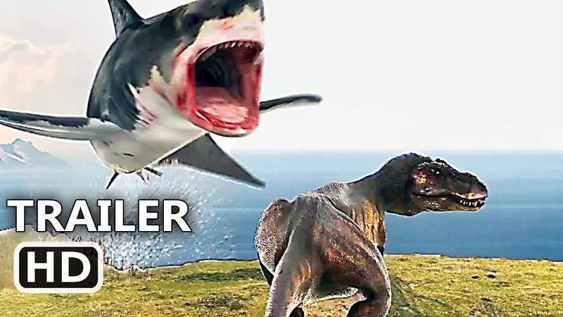 SHARKNADO 6 Shark VS T-Rex Trailer (NEW 2018) The Last Sharknado Movie HD