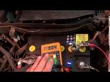 Разряжается аккумулятор.Утечка тока. Opel Meriva(Опель Мерива) поиск утечки тока.