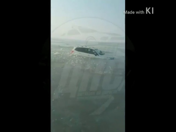 Машины утонули в Амурском заливе