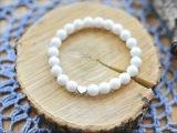 MashaLe bracelet Сердечные браслеты ручной работы с натуральными камнями