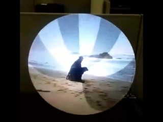 Видео на LED вентиляторе