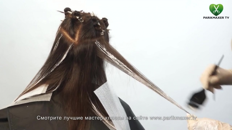 Как сделать омбре How to ombre hair парикмахер тв parikmaxer.tv