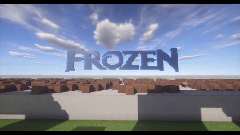 Frozen Let It Go Minecraft Noteblocks