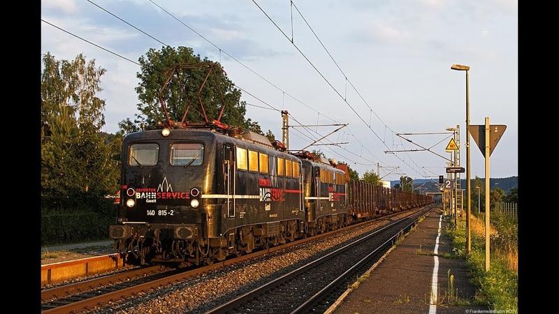 Ecco Rail, EBS 140er, Enercon, IC 2, TX Logistik uvm. auf der Frankenwaldbahn