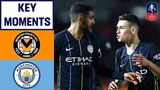 Newport 1-4 Manchester City Foden Double Eases City Past Newport Emirates FA Cup 201819