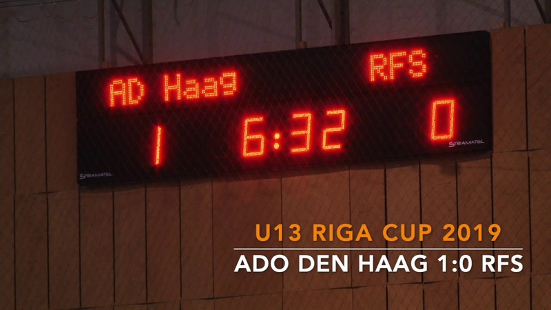 Riga Cup 2019 U-13 Ado den Haag - RFS
