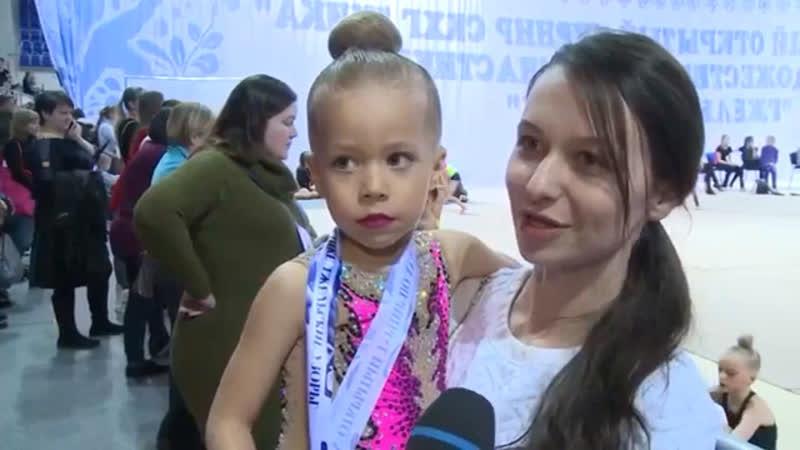 Видеосюжет. 5-й традиционный турнир «Гжельские узоры «