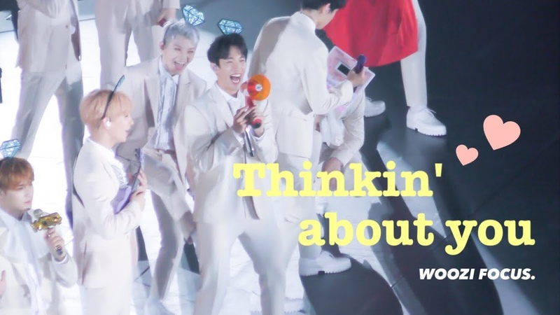 180909 ❤️ [4K] Thinkin about you WOOZI FOCUS.