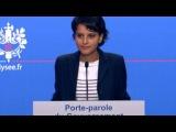 Point de presse du 17 octobre 2012 de Najat Vallaud-Belkacem