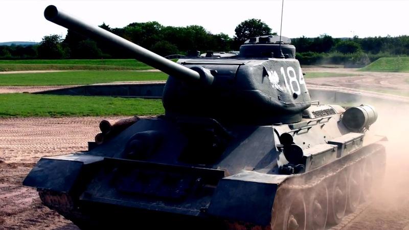 ✔ О русской смекалке Немец о том, зачем русские вешали ведро на ствол Т-34 и почему этого боялись