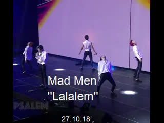 (27.10.18) Mad Men ''Lalalem'' (Q fest концерт)