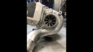 Гибридная турбина BKS 3 0 TDI готова!!!!!!!!!!!!
