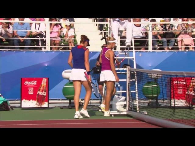 Universiade XXVII Tennis Women's Pavlyuchenkova/Vesnina vs. Christian/Santamaria (720p)