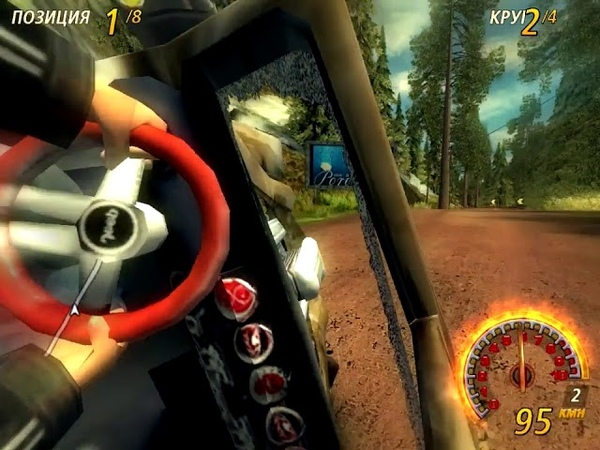 FlatOut 2. Most Wanted - Jeep Hurricane - Pinegrove 3