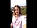 Джессика на съемке для Honest Beauty интстаграм 18 июля 2018